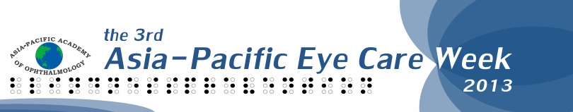 banner for APAO eye care week