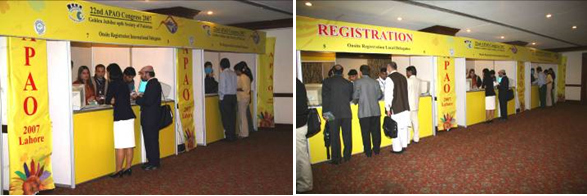 Registration Counter 2007