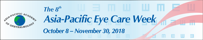 8th Asia-Pacific Eye Care Week Leaderboard banner (810x161px – PNG)